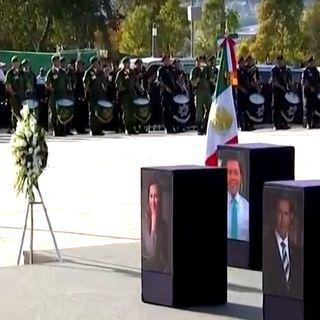 Todo listo para la ceremonia luctuosa en Puebla