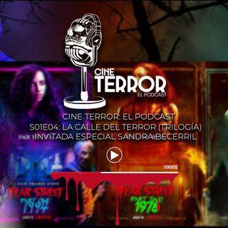 Cine Terror - El Podcast - S01E04 - Fear Street (feat - Sandra Becerril)
