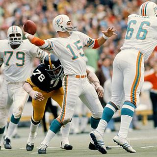 TGT Presents On This Day: December 31,1972, The Miami Dolphins Beat the Pittsburgh Steelers to Win the AFC Championship