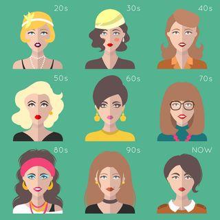Evoluzione della moda nel 900