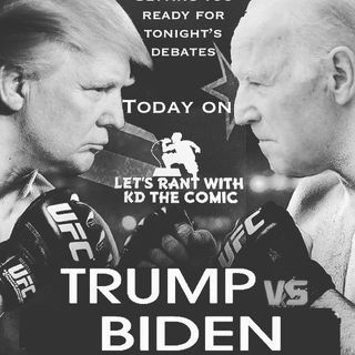 "Tonight's debates ""Let's Get Ready To stumble... I Mean Rumble"""