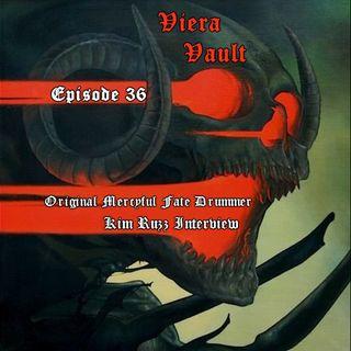 Episide 36: Original Mercyful Fate Drummer Kim Ruzz Interview