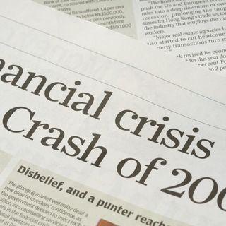 Why we had 2008 crisis