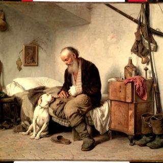 L'alpino e il suo cane