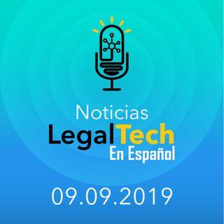 Noticias Legaltech 09.09.2019