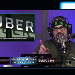 Hack Naked News #198 - November 27, 2018
