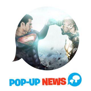 Superman VS Black Adam nel film con The Rock? - POP-UP NEWS