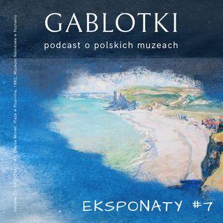 26. EKSPONATY #7: Claude Monet, Plaża w Pourville, 1882, Muzeum Narodowe w Poznaniu