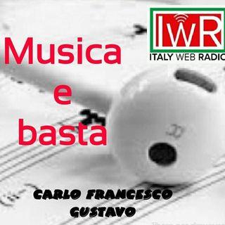MUSICA E BASTA