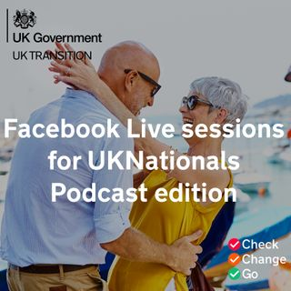 Facebook Live sessions for UKNationals