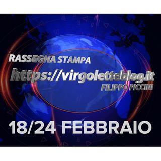 RASSEGNA STAMPA 18/24 febbraio | virgoletteblog.it