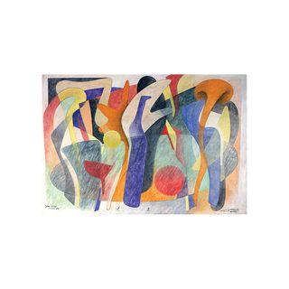 Sobre a Mesa com Garrafa Azul - Paulo Laender - An Art Trek