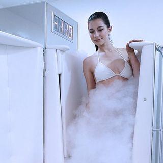 Ep5 - Criosauna, il freddo che cura! 3 minuti a -150 gradi, provare per credere!