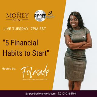 5 Financial Habits to Start