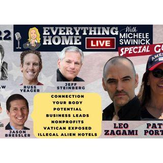 222 LIVE: Vatican, Border, Connect, Your Body, Potential, Biz Leads, Nonprofits