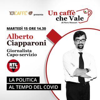 Alberto Ciapparoni: La politica al tempo del Covid