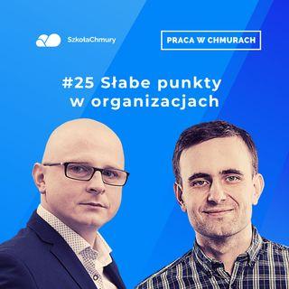 Odc. #25 TOP 5 słabych punktów każdej organizacji w cybersecurity. Gość: Łukasz Kister
