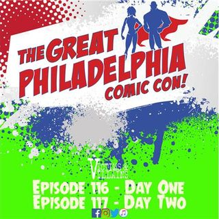 The Great Philadelphia Comic Con - Day One