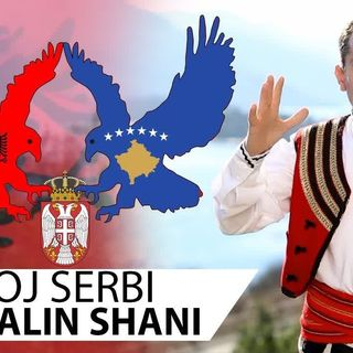 Gjovalin Shani - Moj Serbi ( Official Video )