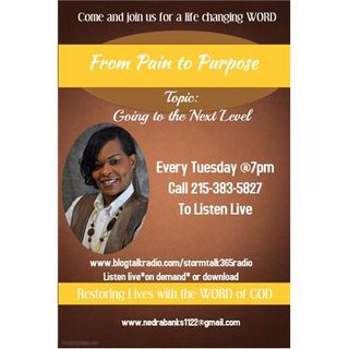 """""""From Pain to Purpose"""" with Pastor Nedra"""