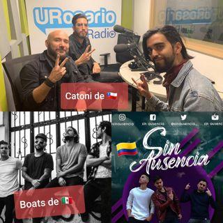 Boats de México, Catoni de Chile y Sin Ausencia por Colombia en UR Rock
