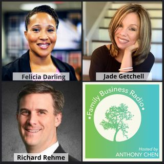 Felicia Darling, DTSpade Specialized Real Estate, Jade Getchell, Enlighten Design & Marketing, and Richard Rehme, Intelligent Office (Family
