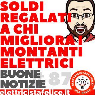 #87 Rimborsi per rifare i montanti elettrici
