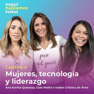 Mujeres, tecnología y liderazgo