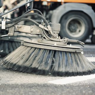 In Medford, Street Sweeping Comes With A Loud Awakening For Some