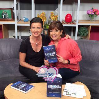 """Gaby Vargas nos presenta su nuevo libro: """"Energía. Tu Poder""""."""