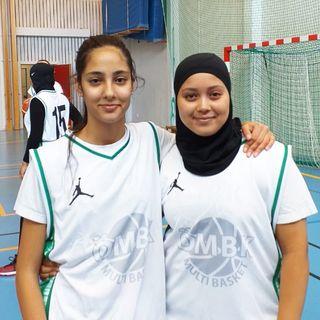 Mariam och Noor från ÖMBK