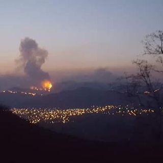 Nubosidad es causada por los 172 incendios que se registran en el país