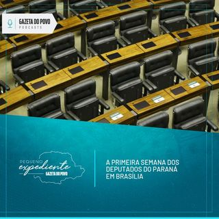 Pequeno Expediente #58: a primeira semana de trabalho dos deputados do Paraná em Brasília