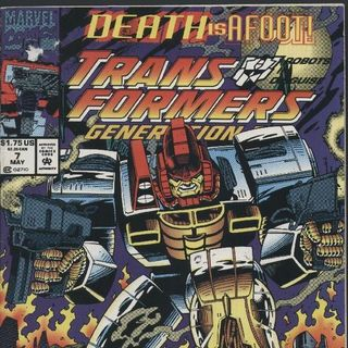 """Unspoken Issues #39 - """"Transformers: Generation 2"""" issues 7-12"""