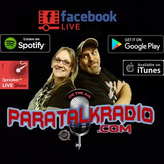 Paratalkradio Welcomes Bob Christopher & Gina Bengston & Cookie Stringfellow Part 1
