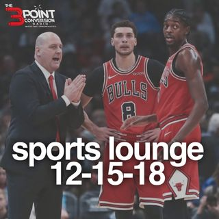 The 3 Point Conversion Sports Lounge- Chicago Bulls Are Imploding, NFL (Super Bowl Open To Multiple Teams) Who's Best NBA Player Now