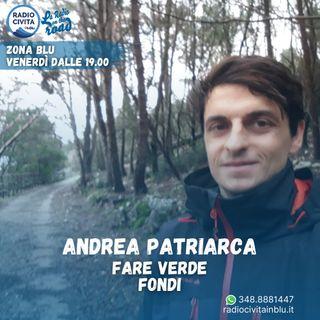 Giornata mondiale dell'ambiente, intervista ad Andrea Patriarca di Fare Verde Fondi