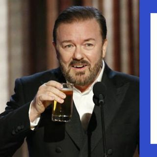 RICKY GERVAIS REVEALS WHY HE ROASTED STARS AT GOLDEN GLOBES