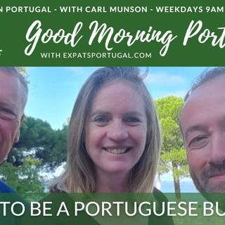 Proud to be a Portuguese business! & currency update on the Good Morning Portugal! Show
