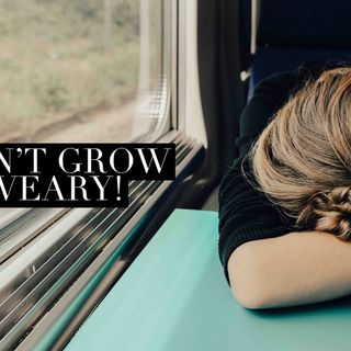 Episode 48 - Don't grow weary!