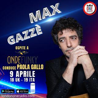 """Esclusiva: Max Gazzè presenta """"La matematica dei rami"""""""