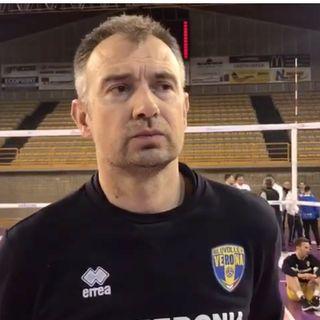 Superlega: Nikola Grbic presenta il derby dell'Adige