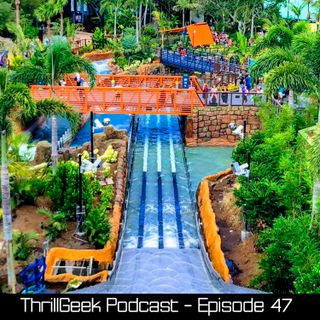 Episode 47 - BARRY RETURNS - Infinity Falls Grand Opening & Scream-A-Geddon Review