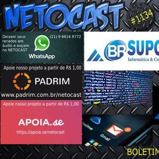 NETOCAST 1134 DE 01/04/2019 - BOLETIM DE TECNOLOGIA