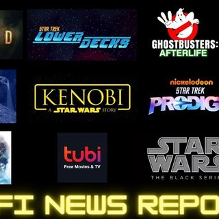 Sci Fi News Report: Star Trek Picard & Q, Lower Decks, Prodigy, Kenobi, Ghostbusters Afterlife