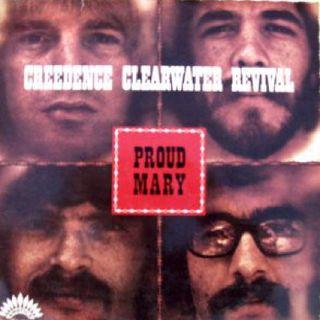Parliamo dei CREEDENCE CLEARWATER REVIVAL e della loro hit PROUD MARY