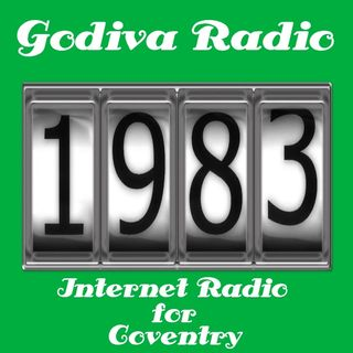 16th November 2018 playing Hits from 1983 on Godiva Radio for Coventry and the World.