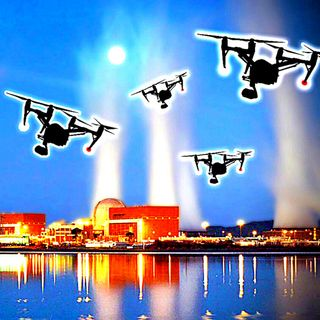 The Night A Mysterious Drone Swarm Descended On Palo Verde Nuclear Power Plant