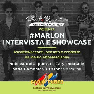 Radio Punto | #2.5 Marlon 7-10-2018