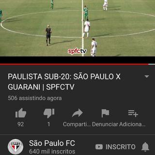 São Paulo X Guarani - sub 20 🔴⚪️⚫️